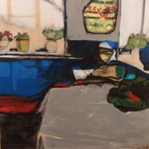 """Acrylic on canvas 36"""" X 36"""" $650"""